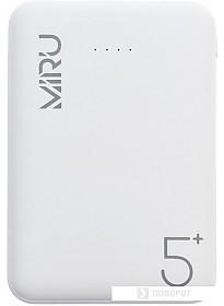 Портативное зарядное устройство Miru LP-3006 (белый)