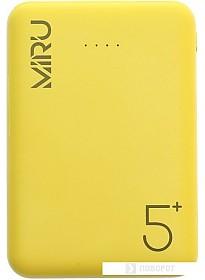 Портативное зарядное устройство Miru LP-3009 (желтый)