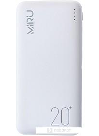 Портативное зарядное устройство Miru LP-3011 (белый)