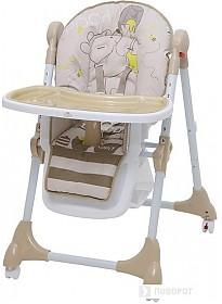 Стульчик для кормления Polini Kids 470 Disney baby (медвежонок Винни, макиато)