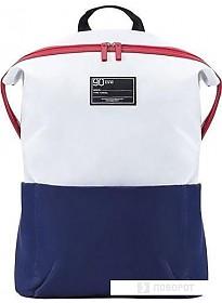 Рюкзак Xiaomi Ninetygo Lecturer Leisure (белый/синий)