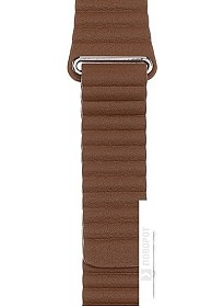 Ремешок Evolution AW40-LL01 для Apple Watch 38/40 мм (nut brown)