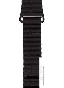 Ремешок Evolution AW44-LL01 для Apple Watch 42/44 мм (dark black)