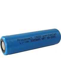 Аккумуляторы PROconnect 18650 2000mAh
