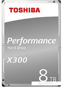 Жесткий диск Toshiba X300 8TB HDWR180UZSVA