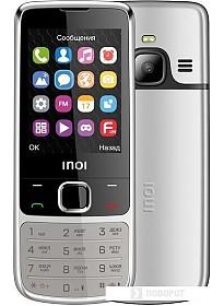 Мобильный телефон Inoi 243 (серебристый)