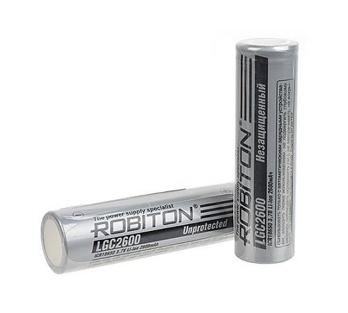 Аккумуляторы Robiton 18650 2600mAh (Без защиты)