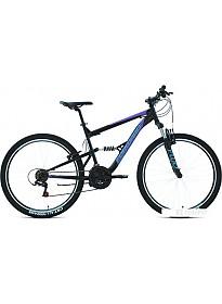 Велосипед Forward Raptor 27.5 1.0 р.16 2020 (черный/фиолетовый)