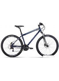Велосипед Forward Sporting 27.5 3.0 disc р.17 2020 (синий)