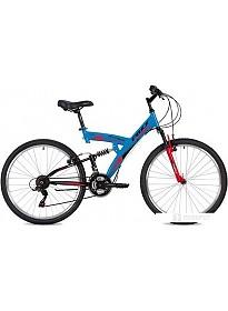Велосипед Foxx Attack 26 р.20 2020 (синий)