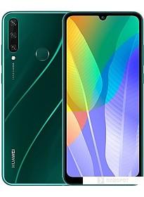 Смартфон Huawei Y6p MED-LX9N 3GB/64GB (изумрудный зеленый)