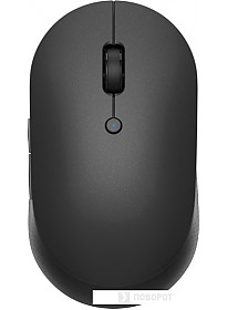 Мышь Xiaomi Mi Dual Mode Wireless Mouse Silent Edition (черный)