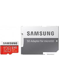Карта памяти Samsung EVO Plus 2020 microSDXC 128GB (с адаптером)