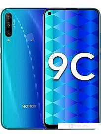 Смартфон HONOR 9С AKA-L29 4GB/64GB (ярко-голубой)