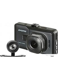 Автомобильный видеорегистратор Digma FreeDrive 118 Dual