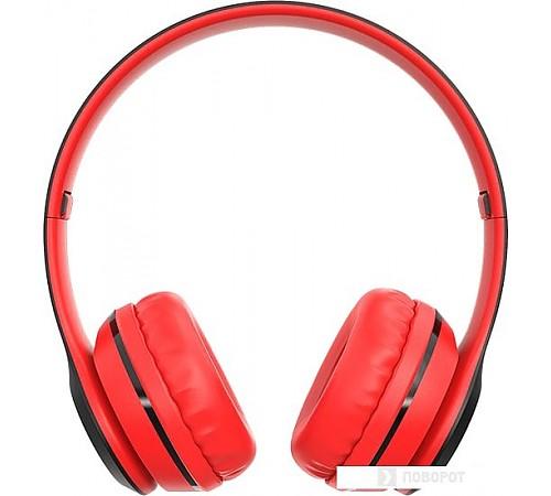 Наушники Borofone BO4 (черный/красный)