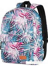 Рюкзак 2E BPT6114PK (пальмы, розовый)