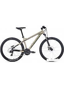 Велосипед Forward Quadro 27.5 2.0 disc р.17 2020 (бежевый)