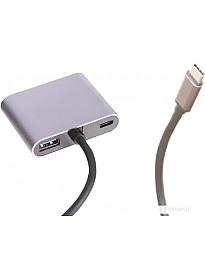 Док-станция Perfeo USB Type-C 4in1 PF-Type-C-10