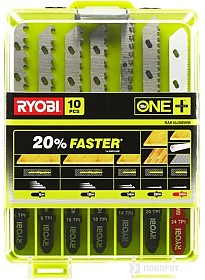 Набор оснастки Ryobi RAK10JSBWM (10 предметов)