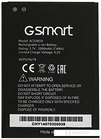 Аккумулятор для телефона Gigabyte GSmart Mika M2