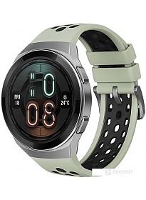 Умные часы Huawei Watch GT 2e Active HCT-B19 (черный/зеленый)