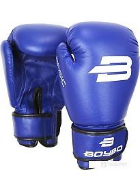 Перчатки для единоборств BoyBo Basic 4 OZ (синий)
