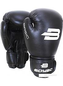 Перчатки для единоборств BoyBo Basic 6 OZ (черный)