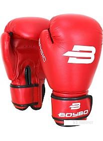 Перчатки для единоборств BoyBo Basic 6 OZ (красный)