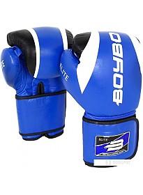 Перчатки для единоборств BoyBo Elite 10 OZ (синий)