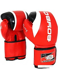 Перчатки для единоборств BoyBo Elite 12 OZ (красный)