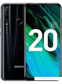 Смартфон HONOR 20e HRY-LX1T 4GB/64GB (полночный черный)