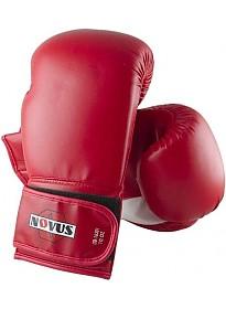 Перчатки для единоборств Novus LTB-16301 (12 oz, S/M, красный)