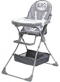 Стульчик для кормления Polini Kids 252 (Слоник, серый)