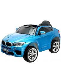 Электромобиль Sima-Land BMW X6M (синий)