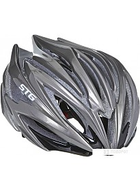 Cпортивный шлем STG HB98-B M (р. 56-59, черный)