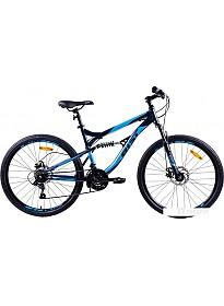 Велосипед AIST Avatar Disc 26 (синий, 2019)