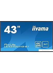 Информационная панель Iiyama LE4340UHS-B1
