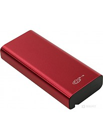 Портативное зарядное устройство KS-IS KS-371 (красный)