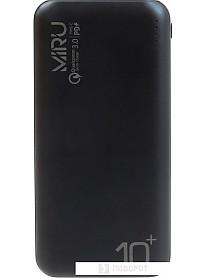Портативное зарядное устройство Miru LP-3012 (черный)