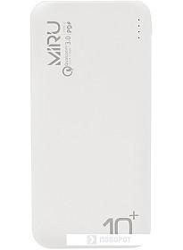 Портативное зарядное устройство Miru LP-3013 (белый)