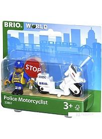 Аксессуары BRIO Полицейский мотоцикл 33861