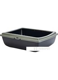 Туалет-лоток Beeztees PanJuliet Eco 400533 (черный/зеленый)