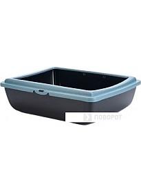 Туалет-лоток Beeztees PanJuliet Eco 400534 (черный/синий)