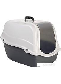 Туалет-домик Beeztees Romeo 400482 (серый/белый)