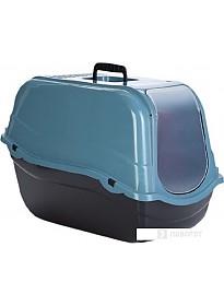Туалет-домик Beeztees Romeo Eco 400531 (синий/черный)