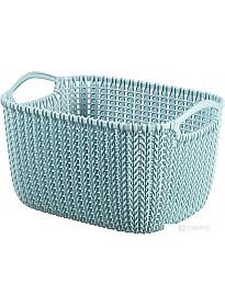 Корзина Curver Knit S (серо-голубой) 226392