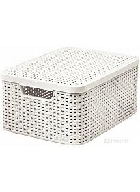 Ящик для хранения Curver Style M (кремовый)