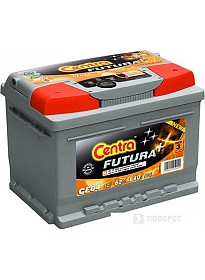Автомобильный аккумулятор Centra Futura CA640 (64 А/ч)