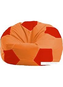 Кресло-мешок Flagman Мяч Стандарт М1.1-217 (оранжевый/красный)